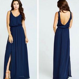 Show me your mumu Kendall navy blue Dress XL